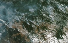 Nagy a baj: már az űrből is látni az amazonasi erdőtüzeket