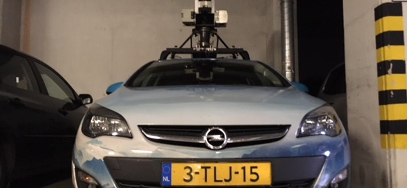 Árokba csúszott Borsodban a Google utcaképfotózó autója