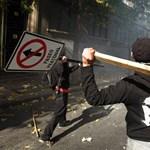 Képek: húszezer diák tüntetett az új oktatási törvény ellen Chilében