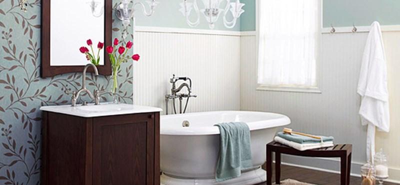 Fürdőszoba: egy tér, három belső