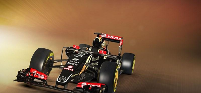 Ezzel a Lotusszal riogat idén a Forma-1-ben Maldonado