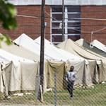 A rendőrség szerint nem történt törvénytelenség a körmendi menekülttáborban
