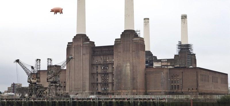 Hogy került a hatalmas malac az erőmű fölé?