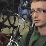 Kerékpárral csajozni is lehet - videó