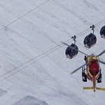 Lehozták a Mont Blanc feletti felvonón éjszakázó turistákat