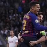 Óriási meccsen nyertek Messiék, Nápolyban botlott a Liverpool