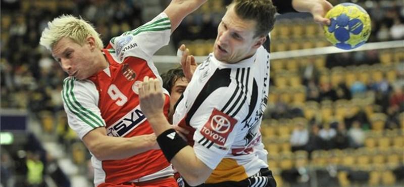 Fantasztikus hajrá, a magyar csapat legyőzte a németeket a kézi-vb-n