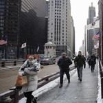 """""""Öt perc alatt lefagy az orr"""" – Chicagót elérte három évtized legkeményebb """"polar vortexe"""""""