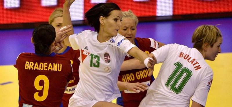 Romániát legyőzve elődöntős a női kéziválogatott