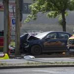 Halálos baleset a Ferihegyre vezető gyorsforgalmin