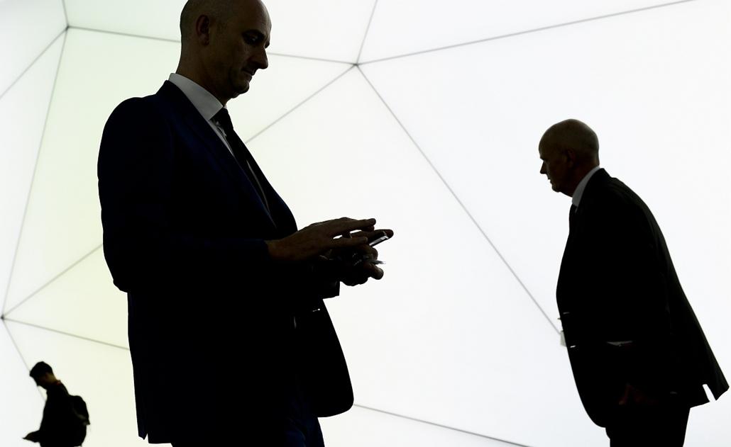 afp.15.03.02. - Barcelona, Spanyolország: Mobilszolgáltatók vezetőinek konferenciája (Mobile World Congress - MWC)- konferencia, mobilkommunikácó - 7képei
