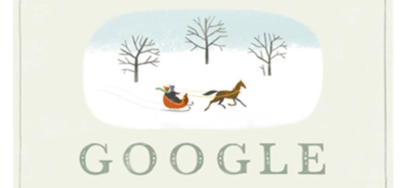 Így várja a karácsonyt a Google