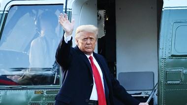 Elhagyta a Fehér Házat Donald Trump