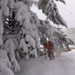 Mátraszentistvánon már 50 centi hó esett
