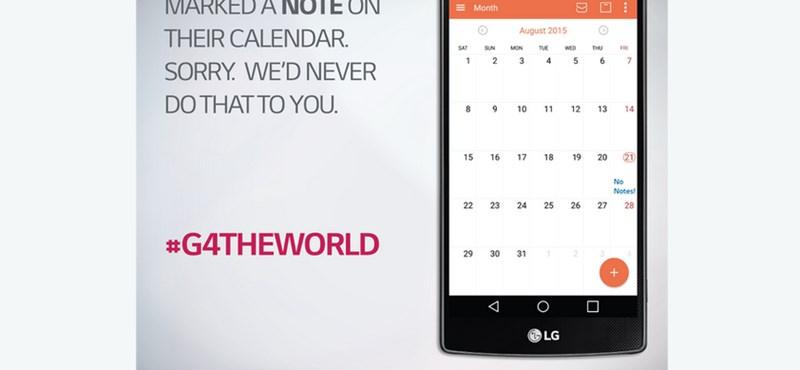 Nem kapható a Note5? Így piszkálja az LG a Samsungot