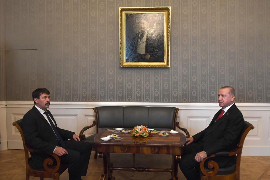 mti - Recep Tayyip Erdogan Áder János
