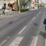 Karambol volt Budapesten az Alkotás utcában