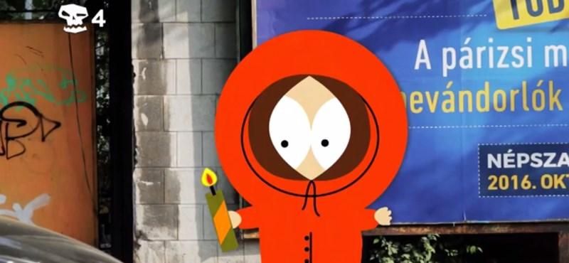 A South Park Kennyje most Budapesten hal meg