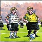 Angela Merkel - Görögország 4-0
