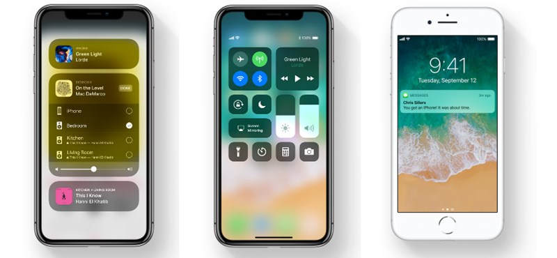 Most nyomjon az iPhone-ján a frissítésre, letölthető az iOS 11