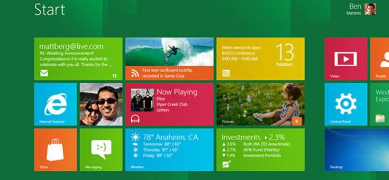 Jön az XBOX Live Windows 8-ra is
