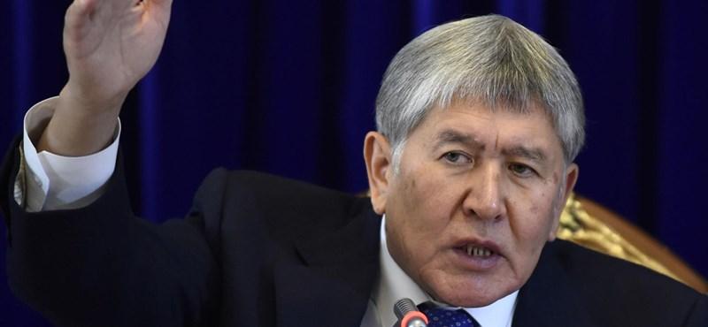 Újabb ostrom indult a kirgiz exelnök letartóztatására