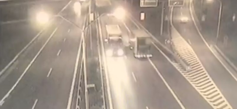 Videó: 5 évet is kaphat a kamionos, aki Pozsonyban hajtott szembe a forgalommal