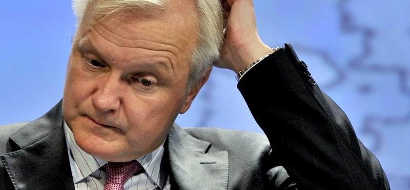 Ellentmondásos hírek terjednek Olli Rehn lemondásáról
