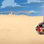 Repül Londonból az Angry Birds játék kitalálója