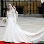Kiről koppintották Kate Middleton esküvői ruháját?