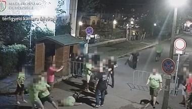 Biztonsági őrök támadtak egy legénybúcsúzó társaságra Siófokon - videó