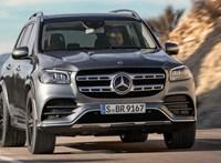Itthon is beárazták az új 7 üléses Mercedest, a gigantikus GLS-t