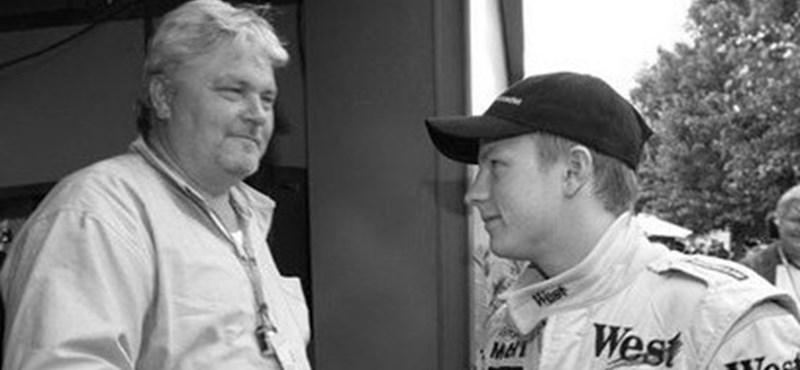 Váratlanul elhunyt Räikkönen édesapja