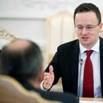 Szijjártó az orosz állami tévének sírt Sorosról
