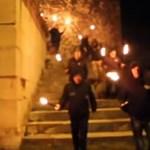 Fáklyás felvonulást tartottak a neonácik Nürnbergben