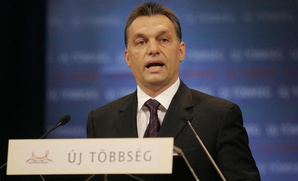 tg.07.02.16. Orbán Viktor évértékelő országértékelő beszédét tartja a Millenáris Park Teátrumában 2007. február 16.