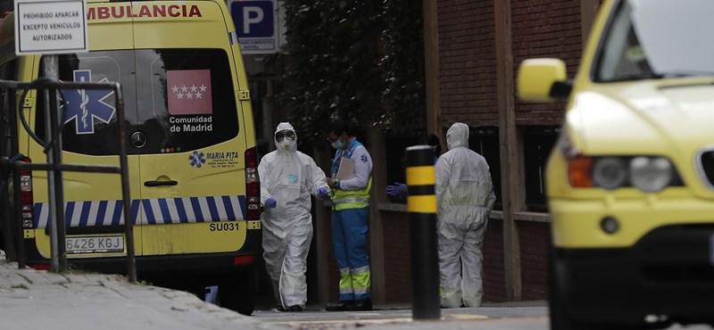 Spanyolországban már ezernél is több áldozata van a járványnak