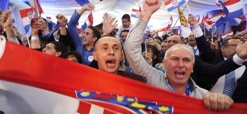 Exit poll: a HDZ nyert a horvátországi választásokon, de nem tud önállóan kormányt alakítani