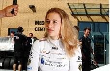 Hét órás műtéten van túl a német lány a hétvégi horror versenybaleset után