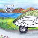 3 kép, ami megmutatja, hogyan képzelik a gyerekek a jövő autóit