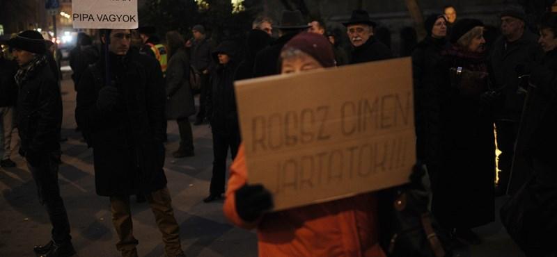 """""""Most már pipa vagyok"""" – véget ért a Horváth András melletti szimpátiatüntetés"""