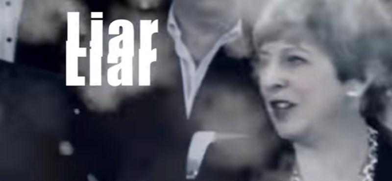 """""""Hazug, hazug"""" – Theresa May-ellenes dal a brit slágerlista élmezőnyében"""