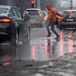 Felmelegedés, de ónos eső is jöhet a hétvégén