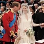 Íme, Kate Middleton menyasszonyi ruhája
