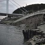 Fotó: Megbontotta az alsó rakpart rézsűjét az Ördögárokban lezúduló víz