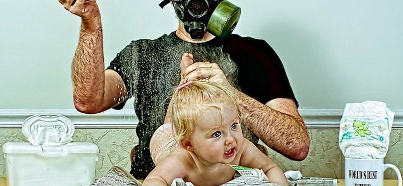 Az egész világ láthatja, mit művelt lányával a világ legjobb apája - fotók