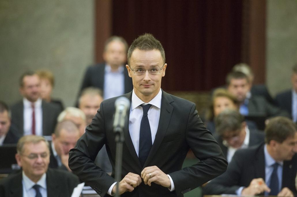 mti. OGY - Letette a miniszteri esküt Szijjártó Péter 2014.09.24.