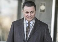 Most a Westendben videózták le Gruevszkit