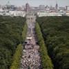 Berlinben tüntettek a maszkviselés ellen a türelmüket vesztett németek
