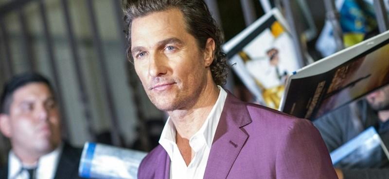 Matthew McConaughey is beadta a derekát: beköszönt az Instagramra